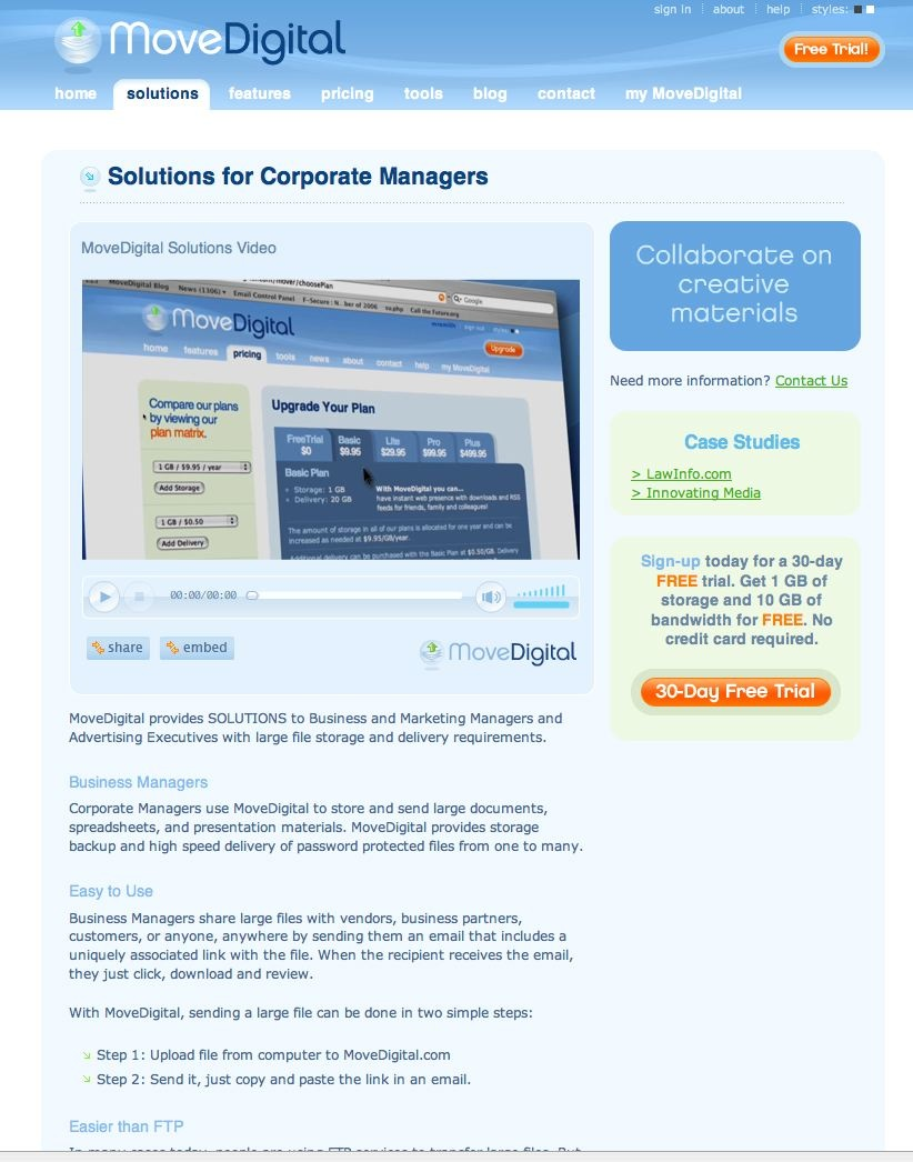 Solution for Corporate Managers